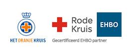 Het Oranje Kruis en het Rode Kruis Gecertificeerd